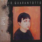 """La copertina dell'album di Lucio Quarantotto """"L'Ultima Nuvola Sui Cieli D'Italia"""" (1990 Sugar Music)"""